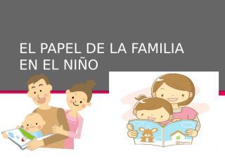 EL PAPEL DE LA FAMILIA EN EL NIÑO 2222 xdxdxd.pptx
