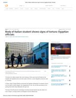 Body of Italian student shows signs of torture_ Egyptian officials _ Reuters.pdf
