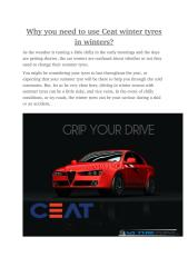 Why you need to use Ceat winter tyres in winter.pdf