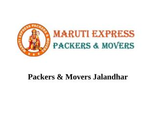 Packers n Movers Jalandhar.pptx
