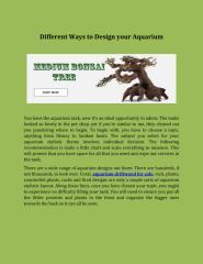 Different Ways to Design your Aquarium.pdf