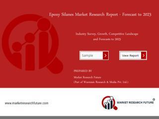 Epoxy Silanes Market.pdf