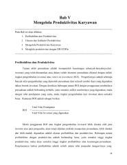 6. Bab V- Mengelola Produktivitas Karaywan.pdf