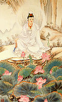 KUAN YIN BEFORE LOTUS - 324x532px