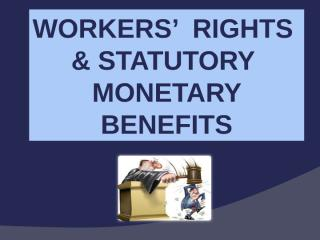 statutory benefits latest revision.ppt