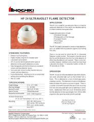 HF-24 ULTRAVIOLET FLAME DETECTOR.pdf