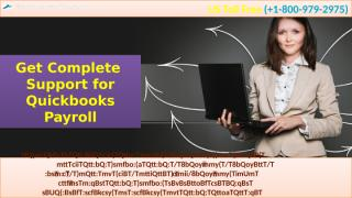 Get Complete  Support for Quickbooks Payroll.pptx